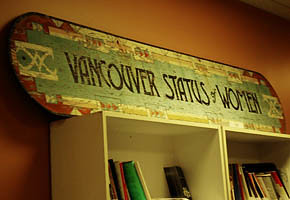 The office of Vancouver Status of Women