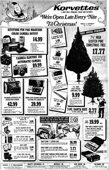 korvettes christmas (a nameless yeast) Tags: christmas 1971 dc washington post ad dcist korvettes washingtonghosts