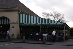 Cafe du Monde.  Coffee and Beignets. (Road Trip 2.0) Tags: neworleansla