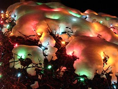 a gift (mereshadow) Tags: christmas light night you snowy 4 gift cottoncandy merry coming sherbert a