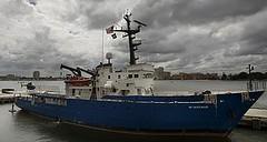El buque McArthur de Blackwater