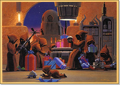 1994 last Ralph Mc Quarrie card feat Jawas