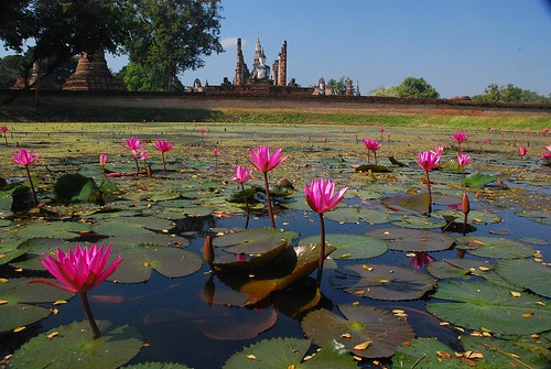 Sukhothai, Thailandia.