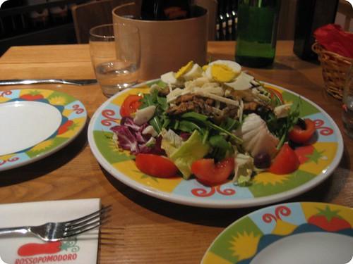 Foto de la ensalada