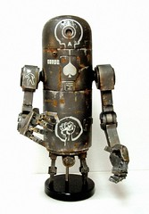 Bertie - Dirty Deeds Edition (Bigshot Toyworks) Tags: robot bertie ashleywood pipebot