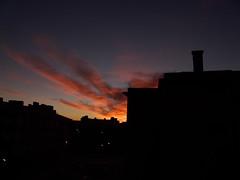 Amanecer rojizo (hiskinho) Tags: sky cloud clouds dawn amanecer nubes nube granangular