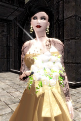 Rowan (Tragix Wilder) Tags: wedding 3d secondlife