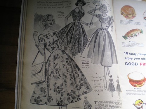 fashions from spring fifty years ago