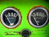 Pressure Temperature (The Joy Of The Mundane) Tags: temp color colour green colors rust colorful colours rusty dial rusted sw colourful temperature pressure gauge dials gauges
