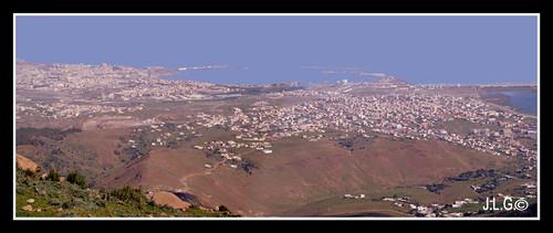 panorámica Melilla & Beni-Anzar