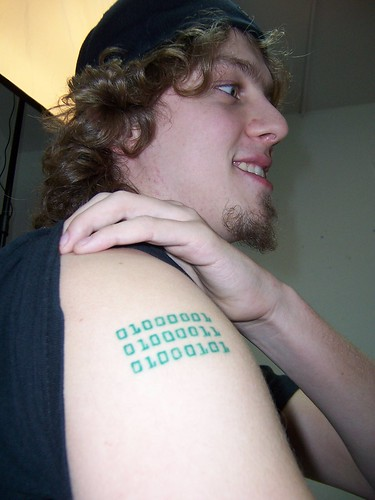 Technorati Tags: tattoo, html, nerd, binary