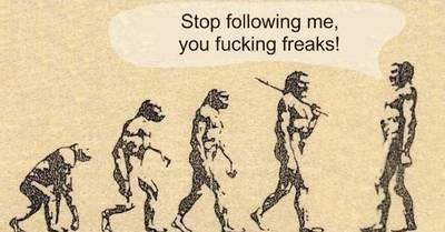 人類進化?!