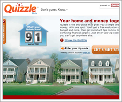 Quizzle (powered by Quicken Loans) is here!