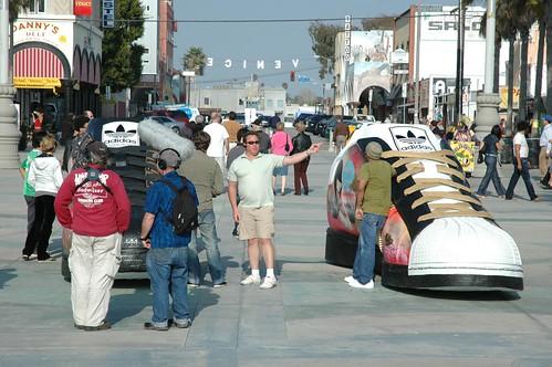Addidas shoe Venice Beach
