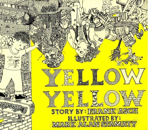 'Yellow yellow' -  Front cover - Mark Alan Stamaty