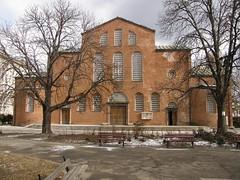 Basilica of Hagia Sofia (Klearchos Kapoutsis) Tags: church bulgaria hagiasofia   sp550uz