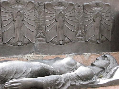 """""""Lenda grega"""" Nicola Rollo - Cemitério da Consolação"""