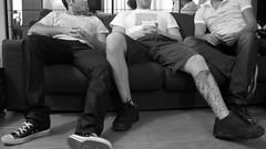 (Ugo Salerno) Tags: tattoo globe shoes panda legs sofa converse trauma tatuaggio dragonette calvinharris entrico thesofasong