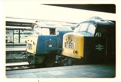 Plymouth, 1974... (rugd1022) Tags: uk 1974 diesel plymouth peak class 45 western region railways 007 52 hydraulic d1066