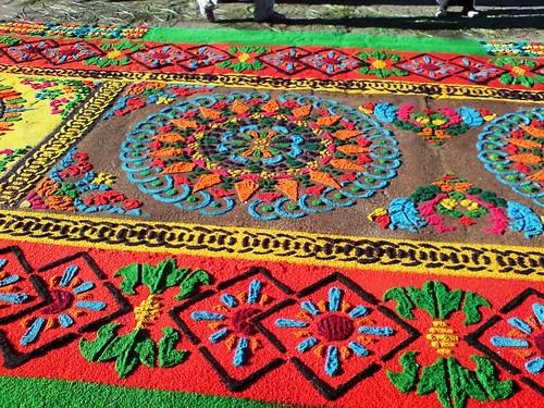 Antigua guatemala alfombras semana santa en el mundo for Mundo alfombra