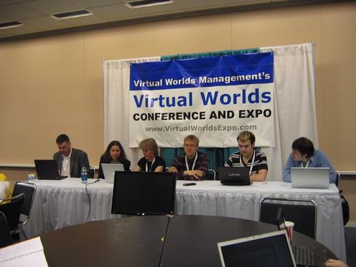 Virtual Worlds 2008 - Open Souce Panel