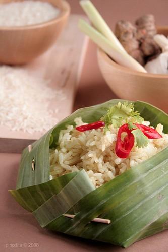 Nasi Langgi - Langgi Rice
