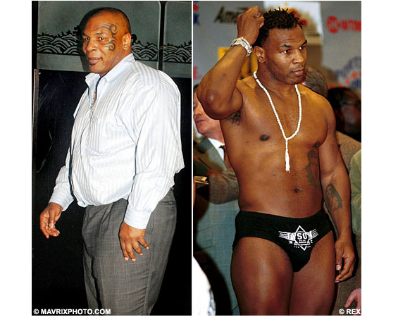 Mike Tyson Is Fat Now