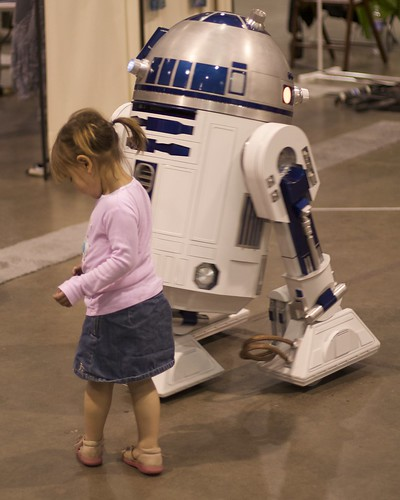 Dancing with R2D2 (Step to the Left)