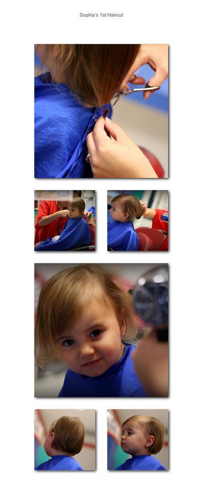 Sophia's 1st Haircut