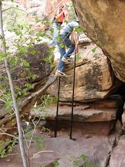 Druid Arch 05.03.08 (root_family) Tags: camping outdoors utah ruins arch desert hiking canyonlands saltcreek anasazi paulbunyanspotty grainary druidarch towerruins