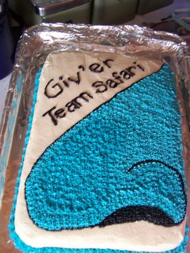 bluenose cake