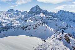 Ascending Liebeseck (luggi9) Tags: winter 2017 austria ski skitour tour hike ride snowbaord snow peak mountain alps liebeseck tauern salzburg radstädtertauern