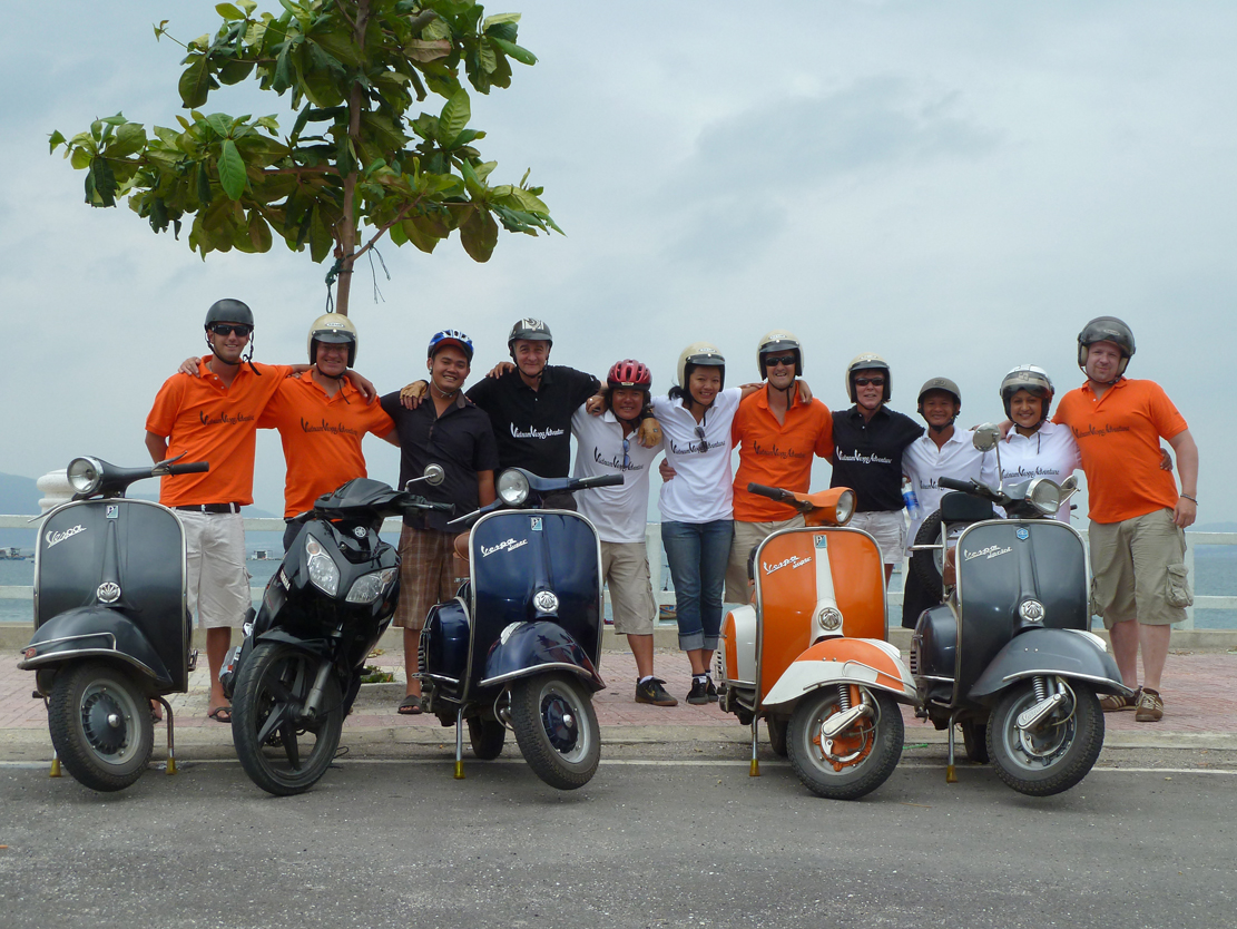 Vietnam Vespa Adventure Group