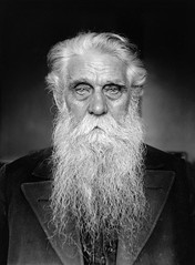 Karl August Andersson, Stockholm, Sweden (Swedish National Heritage Board) Tags: portrait man beard whitehair overcoat riksantikvariembetet theswedishnationalheritageboard