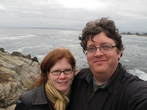 Amy & Thomas at Lovers Point Beach, Pacific Grove