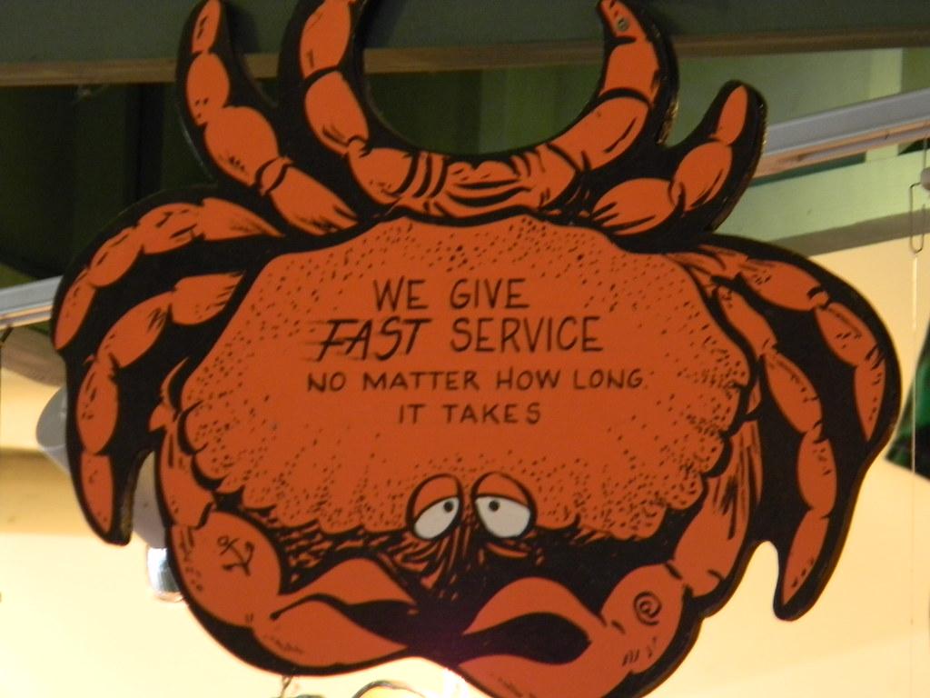 Fast service, huh?