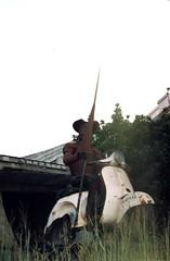 Don Quijote en Algeciras (Cádiz)
