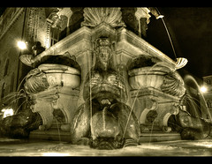 Libido (Vesuviano - Nicola De Pisapia) Tags: water energy power bologna sexual neptune fontana mythology nettuno mitologia libido bwdreams 10faves nereide mywinners acqau vesuviano