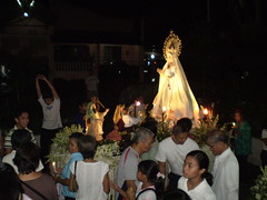 Our Lady of Fatima After the procession