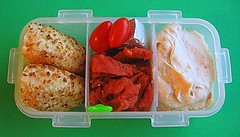 Tocino bento lunch for preschooler