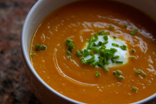 Curried Butternut Squash Soup - Shutterbean