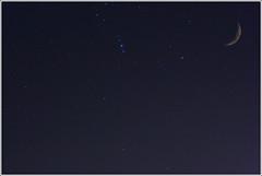 The dreamers (turbomg) Tags: moon night lune stars 50mm star space satellite tripod luna multipleexposure explore orion astronomy universe notte espace solarsystem constellation manfrotto stelle doppiaesposizione astronomie orionnebula univers mirrorlockup abigfave 190pro esposizionemultipla raggioblu diamondclassphotographer flickrdiamond top20blue canonrc1 systmesolaire photoexplore nebulosadiorione