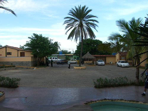 Entrance to Pueblo Caribe