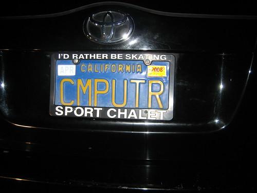 California plate