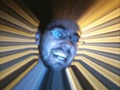 Max Headroom Nightmare (Scott Dierdorf) Tags: selfportrait pencam cheap lowres tinycam