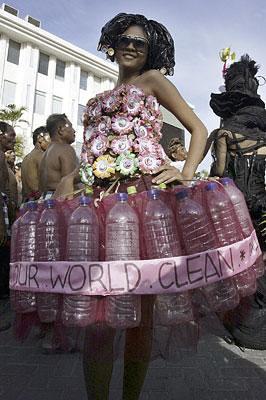 Vestido ecológico