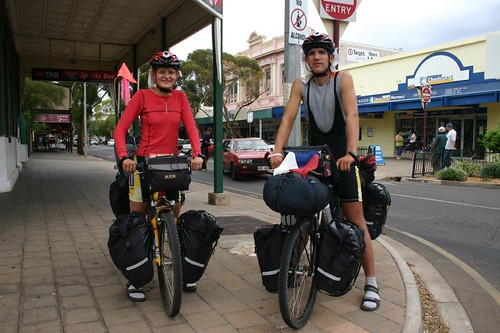 Czech OZ cyclists, Renata & Martin...