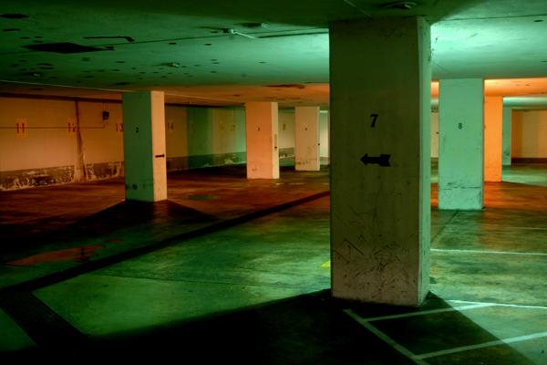Abandoned Garage.