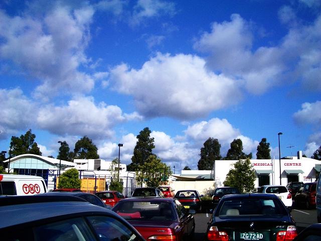 At a car park