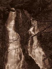 Falls sepia